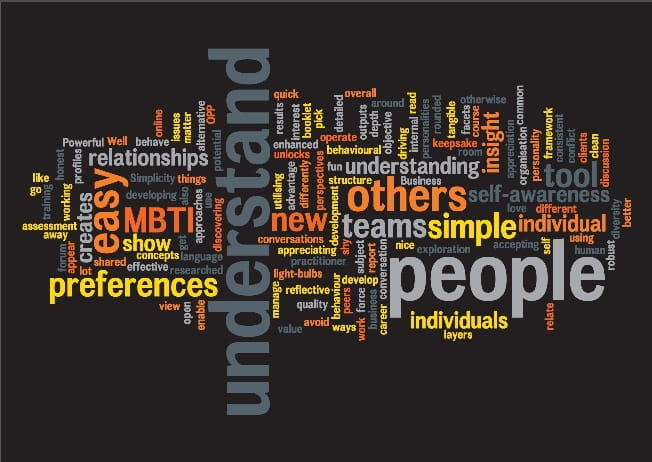 MBTI wordcloud Q1