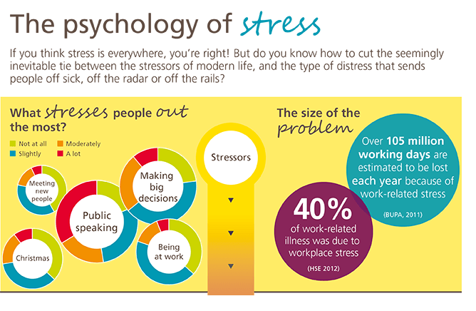 Preview of the stress infographic