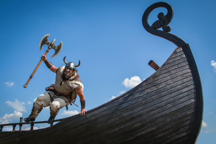 Viking jumps ship