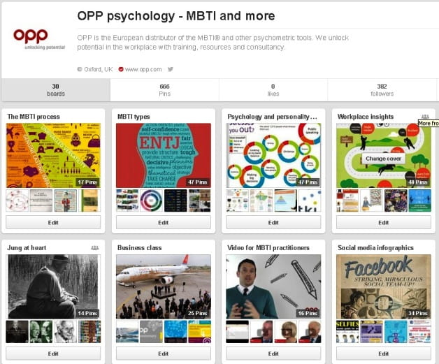 OPP on Pinterest