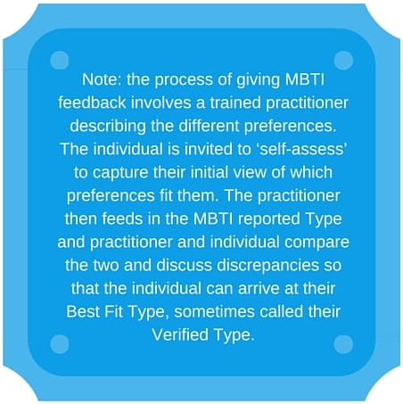 Why use mbti questionnaire
