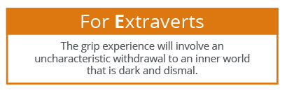 EI in the grip - Extraverts