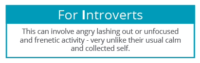 EI in the grip - Introverts
