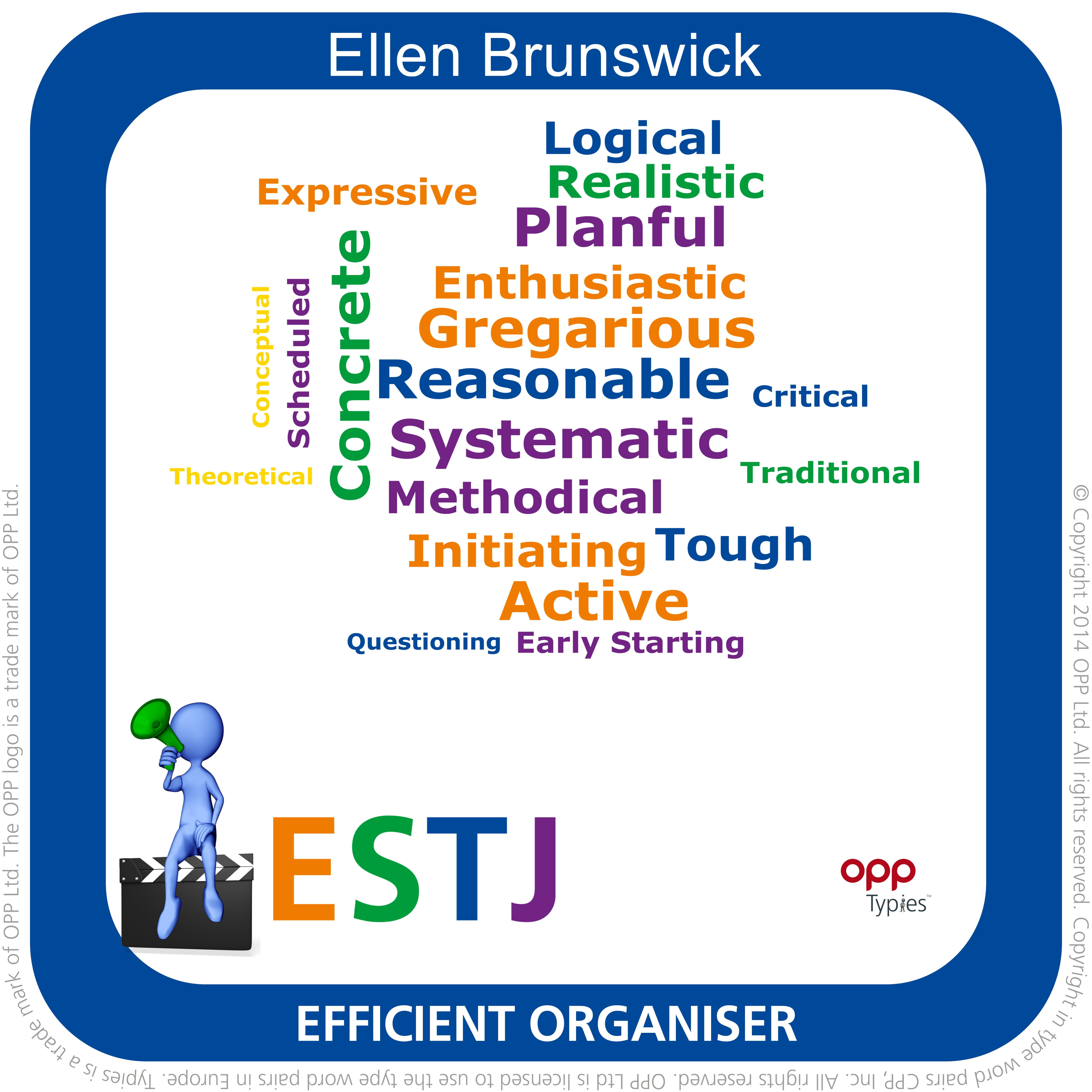 ESTJ Step II Typie example
