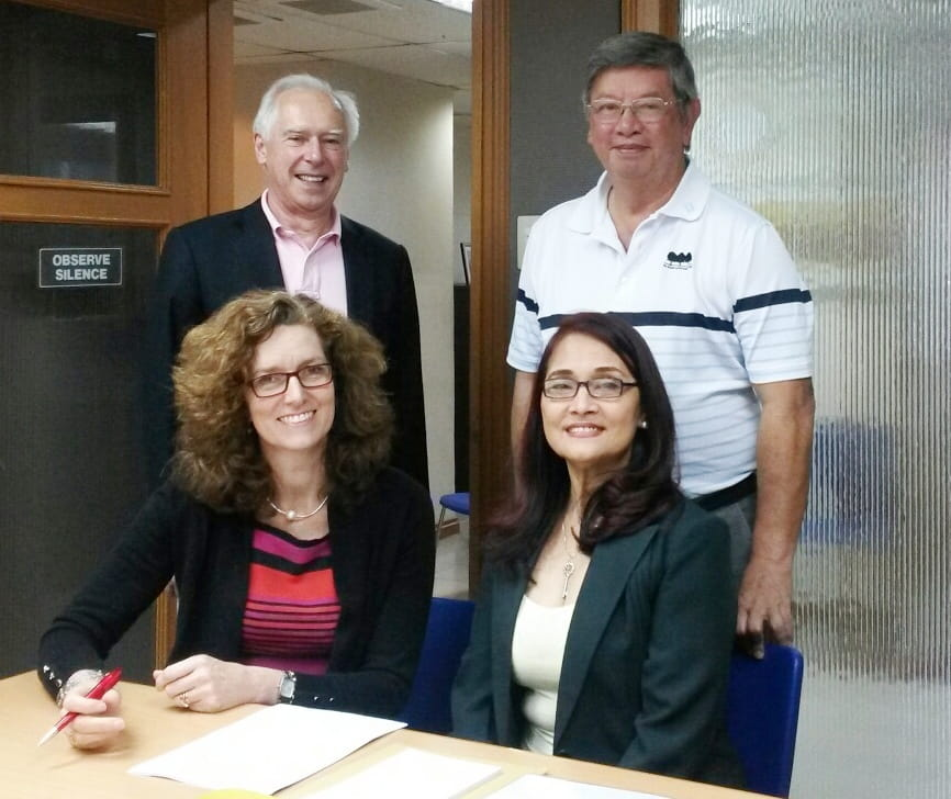 PPC contract signing 2014