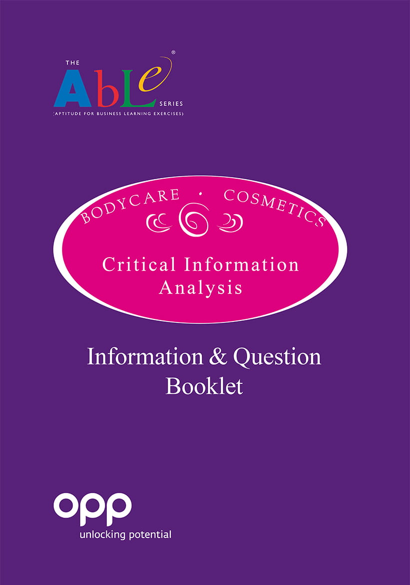 Critical Information Analysis Question and Information booklet - Pack of 10