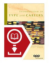 Introduction to Type and Careers (Engels) - eBook