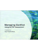 Managing Conflict Using the TKI® Assessment (Engels)