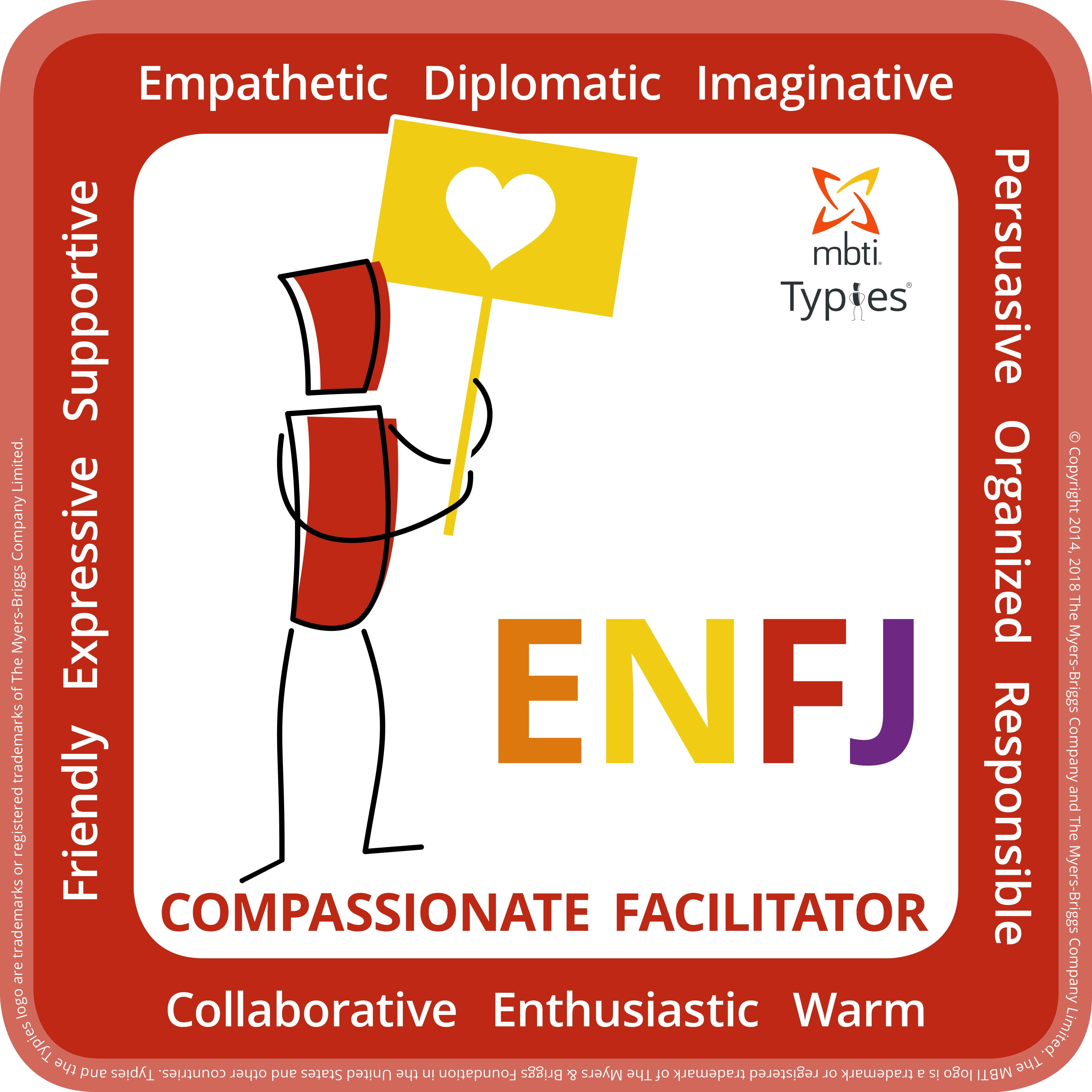 Typical characteristics of an ENFJ