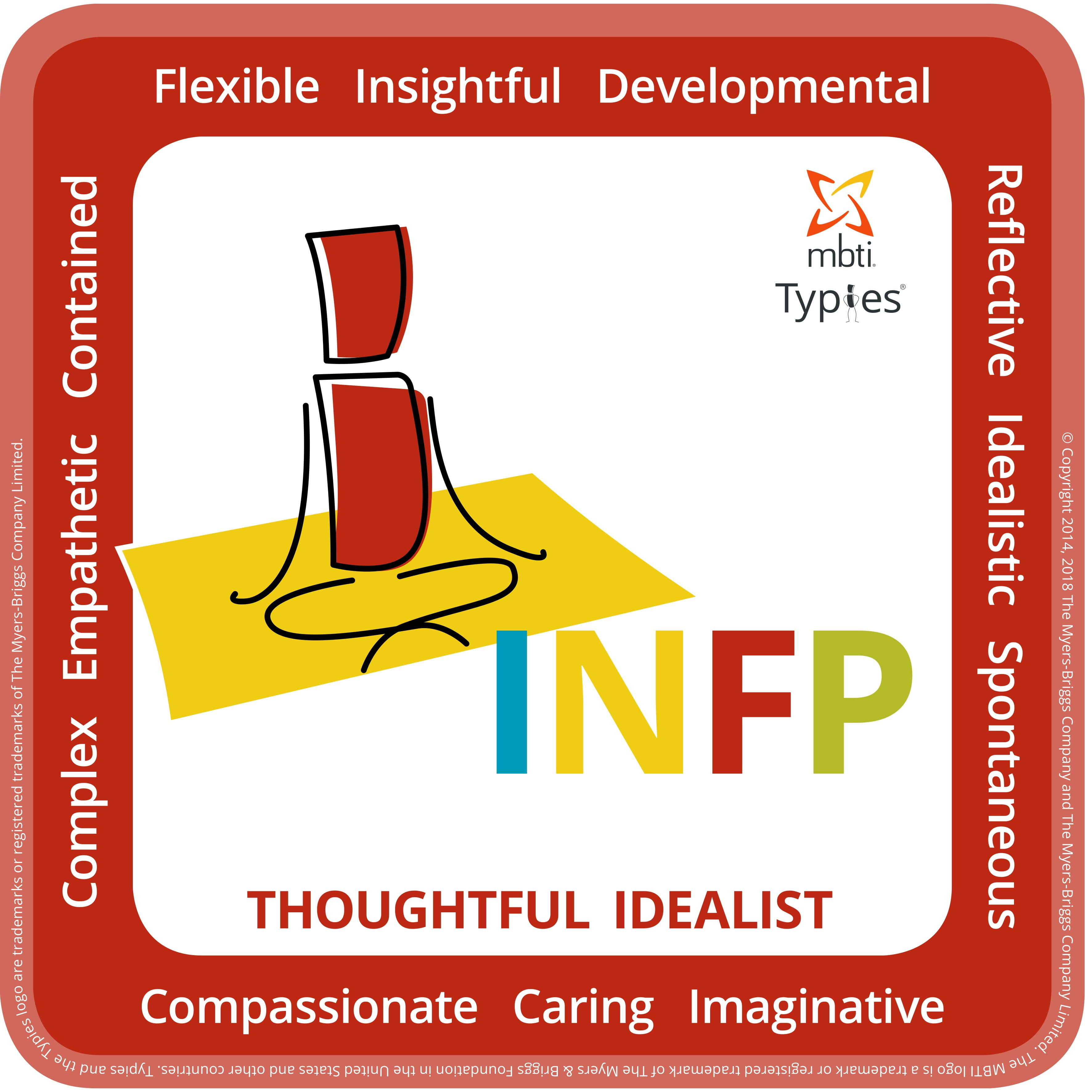 Typical characteristics of an INFP