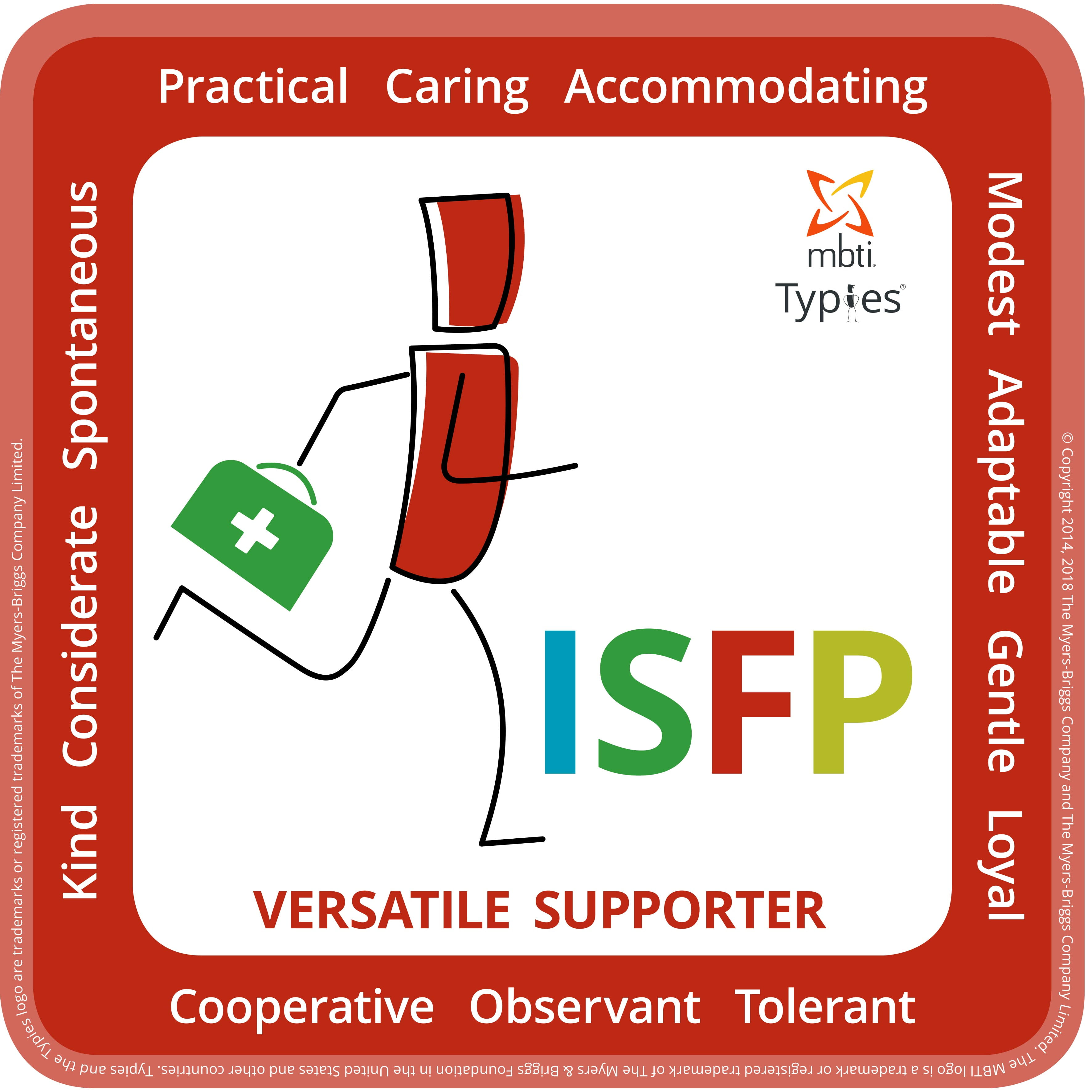 Typical characteristics of an ISFP