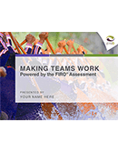 Making Teams Work Powered by the FIRO<sup>®</sup> Assessment