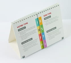 MBTI Flip a Type Tip - pack of 10 (French)