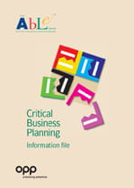 ABLE - Critical Business Planning - information file