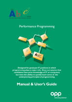 ABLE - Performance Programming - manual and user's guide