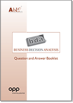 Business Decision Analisis
