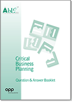 Critical Business Planning