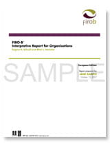 FIRO-B<sup>®</sup> Interpretive Report for Organisations