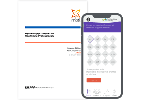 Myers-Briggs<sup>®</sup> Report for Healthcare Professionals + Myers-Briggs<sup>®</sup> App