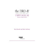 FIRO-B User's Manual