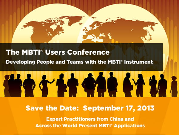 MBTI Users Conference 2013