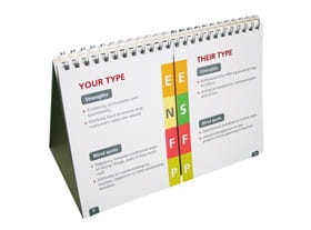 MBTI Flip a Type Tip - pack of 4