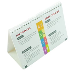 MBTI Flip a Type Tip - pack of 10 (Danish)